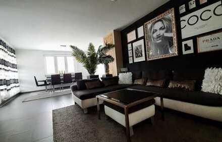 Ausnahmeobjekt: Luxus 4-Zimmer Dachterrassenwohnung voll möbliert 5. OG barrierefrei, von privat