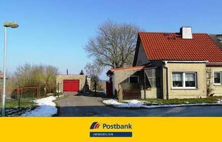 provisionsfrei zu erwerben: kleines Wohnhaus in abgeschiedener Lage