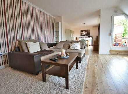 Helle 3-Zimmer-Wohnung mit 2 Balkonen und Einbauküche