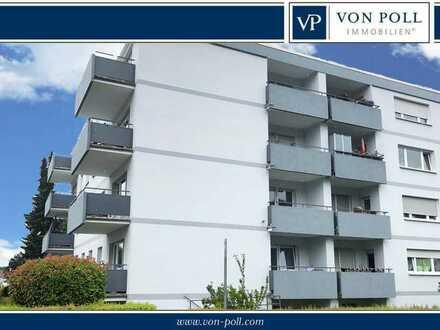 Schöne Eigentumswohnung mit 2 Balkone