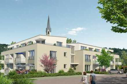Neubau! Betreutes Wohnen (ab 60 J.) Nähe Ortsmitte Horb-Nordstetten - 3 ZKB im OG