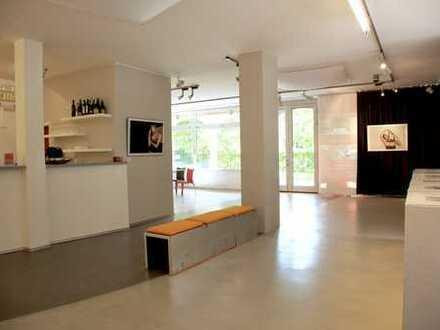 Multifunktionale Studio- u. Ausstellungs-Räume mit Einlieger-App. an der Kampenwand