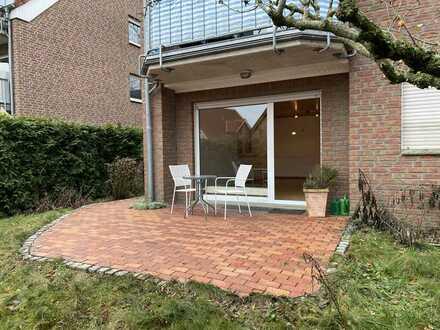 Wunderschöne 2-Zimmer-EG-Wohnung mit kleinem Garten, Garage und EBK in Laer