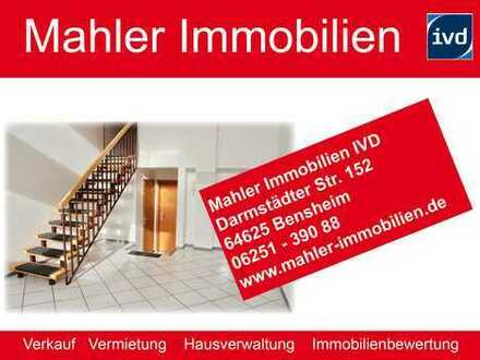 Leben in der Bensheimer Innenstadt - 2 ZKB Maisonettewohnung mit Einbauküche und Terrasse