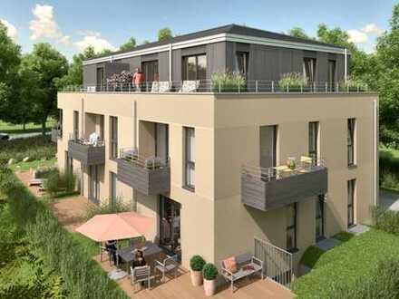 Neubau-Erdgeschoss-Wohnung in exklusiver strandnaher Lage von Scharbeutz!
