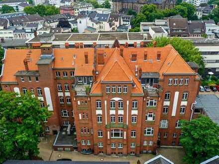 Repräsentatives Gebäudeensemble – Ehemalige Poliklinik Bonn