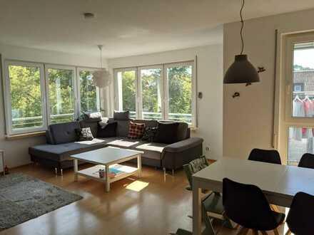 Helle 3-Zimmerwohnung mit Südbalkon in Karlsruhe-Nordstadt