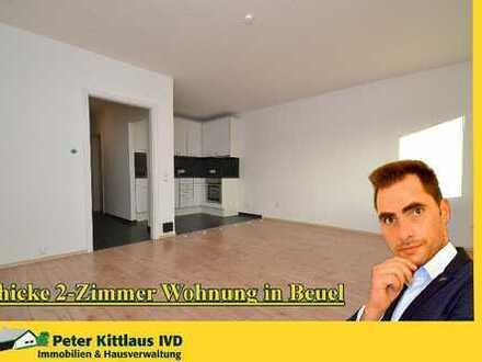 Aufwändig modernisierte Wohnung im Beueler Zentrum.