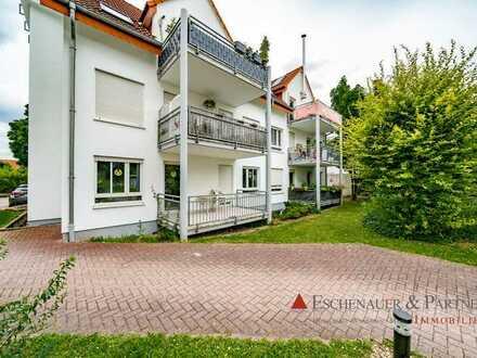 Gut geschnittene 3 Zimmer Eigentumswohnung in ruhiger Wohnlage von Wiesloch.
