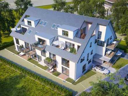 Moderne 3-Zimmer-Wohnung mit großer Terrasse in unmittelbarer Nähe zum Bodensee!