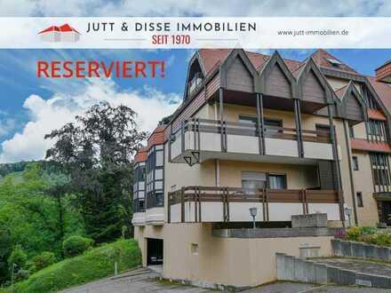 2 Zimmerwohnung mit 65 m², großem Balkon u. Panoramaaussicht in Gernsbach - Scheuern