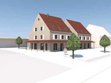 Erstbezug mit Balkon: attraktive 4-Zimmer-Wohnung in Tapfheim