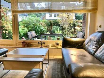 Möblierte 2-Zimmer-Terrassenwohnung mit Fußbodenheizung in Stadtparknähe