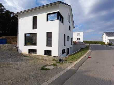 Erstbezug in klimatisierte helle 2,5-Zimmer-Souterrain-Wohnung mit Garten und Einbauküche