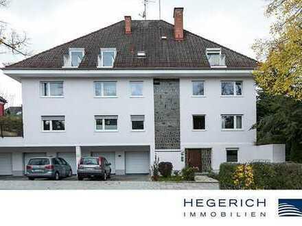 HEGERICH: Renovierungsbedürftige 3-Zimmer-Wohnung in Harlaching