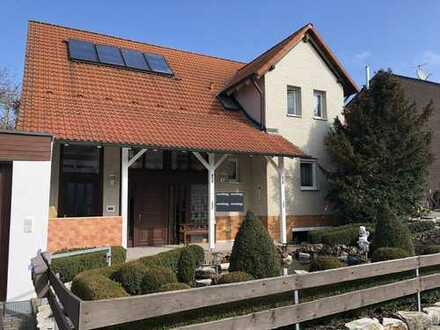 Helles, modernisiertes 1-Zimmer-Appartement im KG in Großenseebach