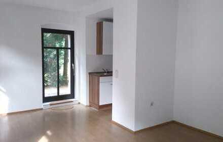 Helle 2-Raum-Wohnung mit Einbauküche im EG eines Mehrfamilienhauses zu vermieten
