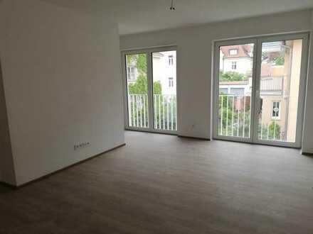 Neubau: 2-Zimmer-Maisonette mit Balkon