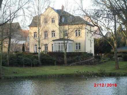 Schöne, geräumige drei Zimmer Wohnung in Niederjahna direkt am Teich.