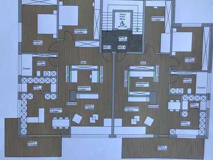 Neubau, Erstbezug in 2023 - hochwertige Eigentumswohnung in einem 4 - Parteienhaus