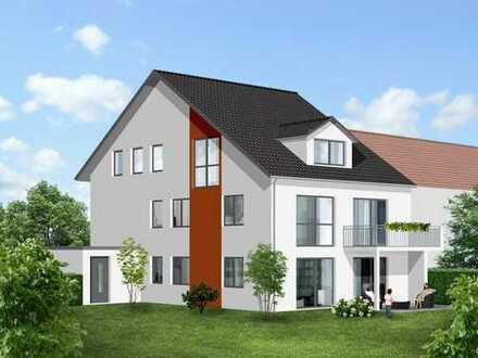 Moderne EG-Wohnung mit Garten
