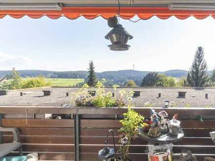 Oase mit Blick über Schonach - 3,5 Zimmer-Eigentumswohnung