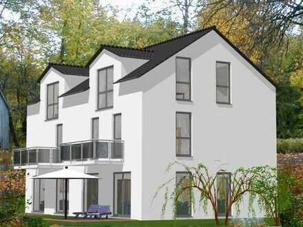 *FAST 50% VERKAUFT* NEUBAU: Rohbau fertiggestellt! Doppelhaus, (Nr. 8) mit 144 m² Wfl., Lorsbach