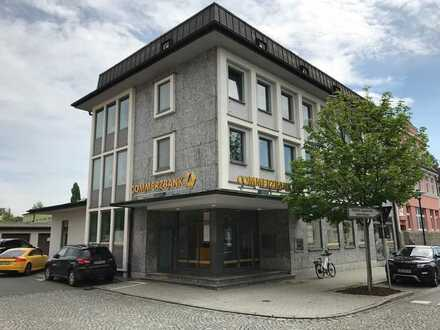 Helles Büro in Rehau, zentrale Lage
