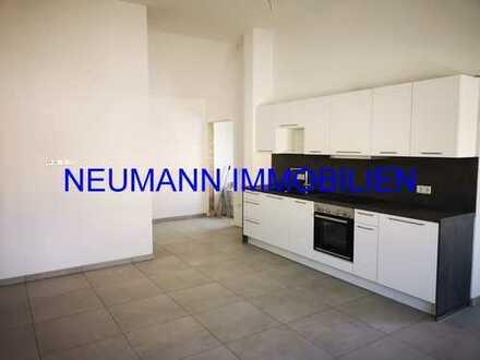 NEUMANN - Neubau! Schöne 3ZKB im 1. Obergeschoss mit Einbauküche und Terrassenanteil