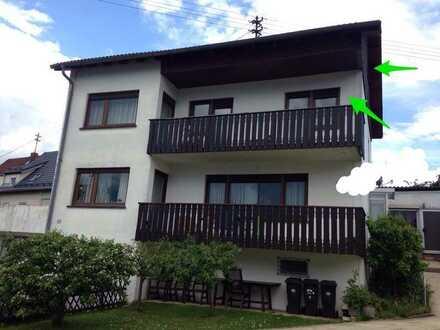 Vollständig renovierte 5,5-Zimmer-Wohnung mit Terrasse, Garten, Balkon und Einbauküche in Mosbach