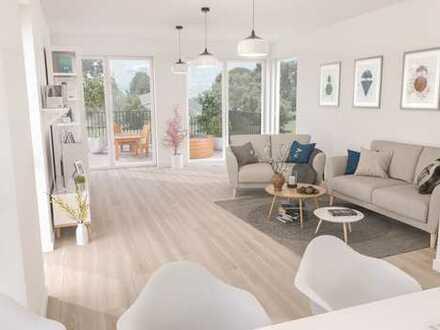 Maisonett-Wohnung mit Garten, Terrasse und Balkon - Provisionsfrei