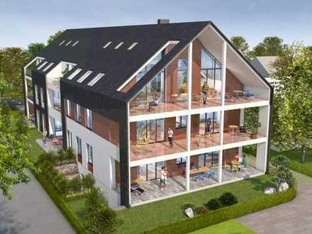 Erlensee: Exklusive 3-Zimmer-Wohnung mit großer Loggia in ruhiger Wohnlage