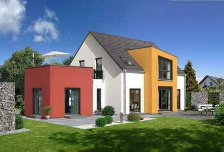 Besonderes Prestige Haus mit Baugrund in Bad Grönenbach mit tollem Blick