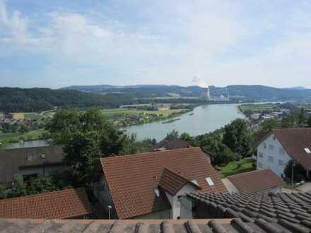 Dreizimmerwohnung mit Rheinblick