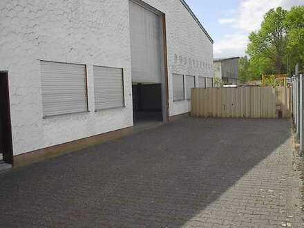 Lager Halle Gewerbe Halle Garage 200m² mit Rolltor u. Aussenfläche in Langenselbold - Ronneburg