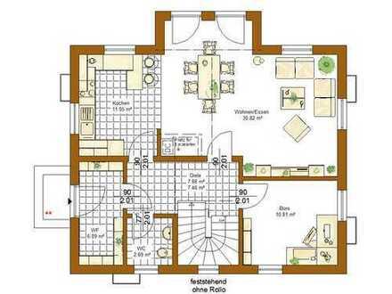 Baugrundstück für ein Stadhaus mit ca. 125 qm Wohnfläche und 65 qm Nutzfläche