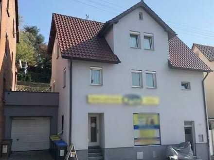 ++PROVISIONSFREI!++ Einfamilienhaus mit Garten, Garage und kleinem Laden in Backnang zu verkaufen !