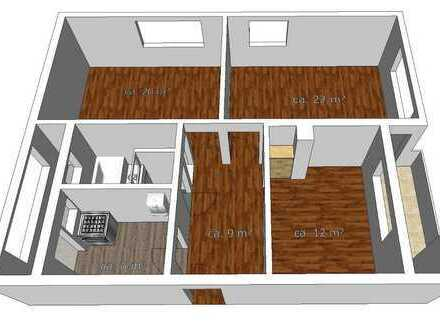 3-Zi. Wohnung in Ludwigsburg Ost mit Garage und viel Stauraum