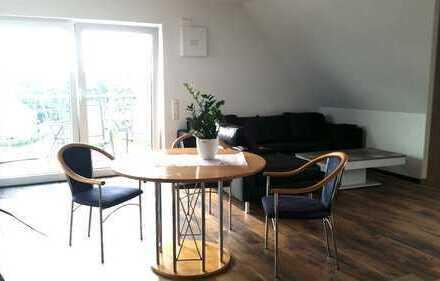 Neuwertige 3-Raum-Wohnung mit Balkon und Einbauküche in Aulendorf