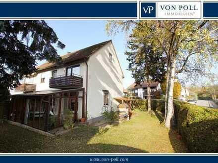 """Die Lage macht's!!! Ruhig, grün und begehrt!!! Hübsche Doppelhaushälfte im """"alten"""" Landshut-West!!!"""