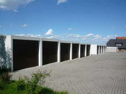 Garage in Welsleben 5min von Autobahnabfahrt