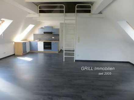 Appartment im DG * Fahrstuhl * Bad mit Dusche und Fenster * EBK * Laminat * Kammer ' ruhige Lage