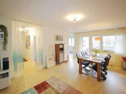 Schicke 2-Zimmer-Eigentumswohnung im Erdgeschoss mit Loggia
