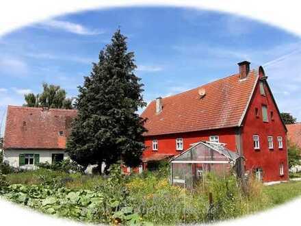 Reserviert - Mühlenanwesen mit Ländereien und Wasserrecht in traumhafter Alleinlage