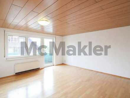 Direkt einziehen oder neu vermieten: Gepflegte 3-Zimmer-Wohnung mit Balkon nahe dem Rohrsee