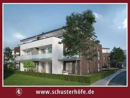 Wohnen auf den Schusterhöfen: Schöne 2-Zimmer-Wohnung mit Balkon