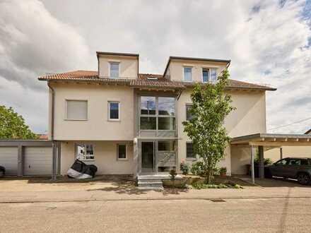 erfüllen Sie sich Ihre Wünsche! 150 m2; 5,5 Zimmer Maisonette-Wohnung mit 200m2 Gartenbereich