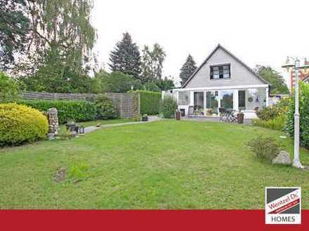 PROVISIONSFREI für Käufer – Einfamilienhaus mit traumhaftem Außenbereich in Kirchsteinbek