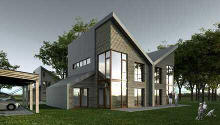 Dörfliches Wohnen in moderner Architektur, KfW Tilgungszuschuss 18.000€; noch 3 Objekte frei