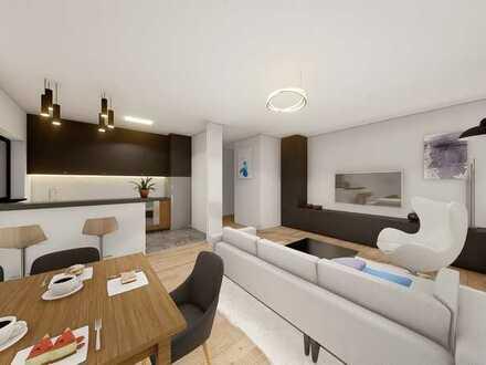 Neubau 3 Zimmer Wohnung mit Balkon